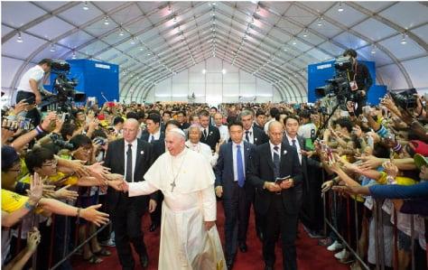 6 años después de la visita a Corea, la voz del Papa sigue teniendo fuerza